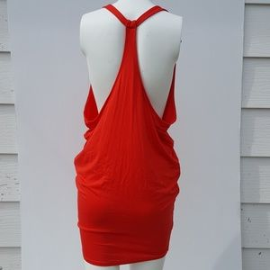 Moda International | Red Racer back Mini Dress XS